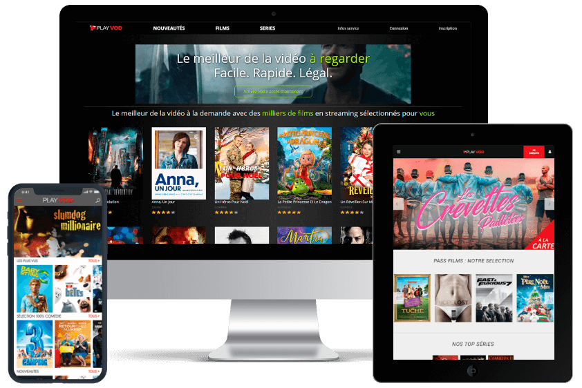 PlayVOD product interface